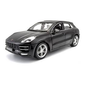 Машинка игрушечная Bburago Porsche Macan (1:24) черная