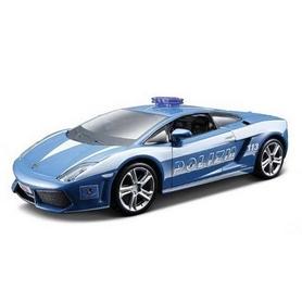 Машинка игрушечная Bburago Lamborghini Gallardo LP560 Polizia (1:32) голубая