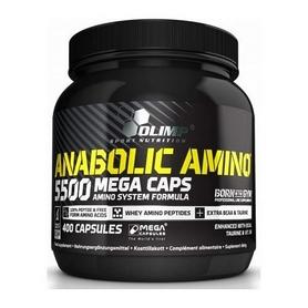 Аминокомплекс Olimp Labs Anabolic Amino 5500 Mega Caps (400 капсул)