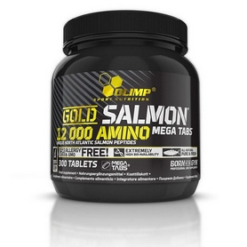Аминокомплекс Olimp Labs Gold Salmon 12000 amino mega tabs (300 таблеток)