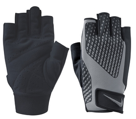 Перчатки для фитнеса мужские Nike Mens Core Lick Training Gloves 2.0 серые