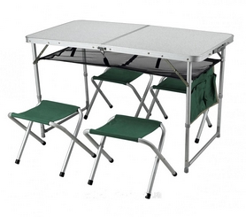 Компактный столик и складывающиеся стулья Ranger ТA 21407+FS 21124