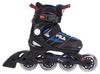 Коньки роликовые раздвижные детские Fila 15 J-one Combo 2 Set blk/blue/red/f15 10615160 синие - фото 1
