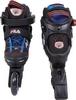 Коньки роликовые раздвижные детские Fila 15 J-one Combo 2 Set blk/blue/red/f15 10615160 синие - фото 3