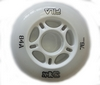 Колеса для роликов Fila 17 Urban Wheels 76MM/84A WHT 8 шт 60760289 - фото 1