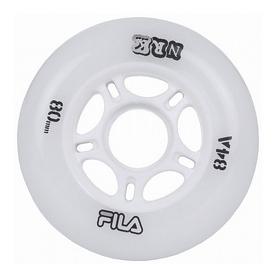 Колеса для роликов Fila 17 Urban Wheels 80MM/84A WHT 8 шт 60760290