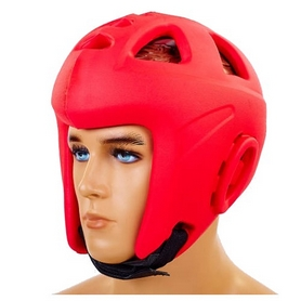 Шлем для единоборств Combat EVA BO-5696-R красный