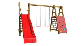 Площадка детская для улицы SportBaby-5