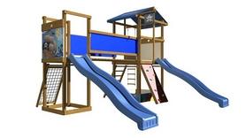 Площадка детская для улицы SportBaby-11