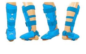 Защита ног (голень+стопа) Daedo PU DAE BO-5074-B синяя