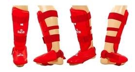 Защита ног (голень+стопа) Daedo PU DAE BO-5074-R красная