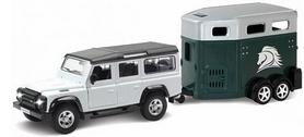 Машинка Uni-Fortune Land Rover Defender с прицепом