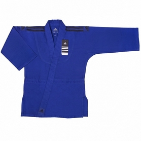 Кимоно для дзюдо Adidas Club J350 Чёрные погоны