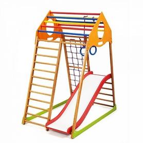 Комплекс спортивно-игровой детский KindWood Plus 1