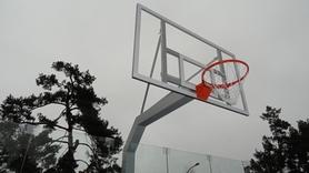 Стойка баскетбольная стационарная SS00082