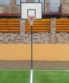 Стойка баскетбольная с одной опорой SS00436