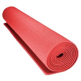 Коврик для йоги (йога-мат) MS 0205-4 3 мм (красный)