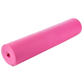 Коврик для йоги (йога-мат) MS 0205-6 3 мм (розовый)