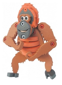 Фото 1 к товару Конструктор Maya Toys Орангутанг