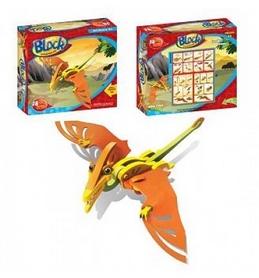 Фото 2 к товару Конструктор Maya Toys Птерозавр