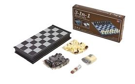 Набор настольных игр 3 в 1 (шахматы, шашки, нарды) Duke IG-48812
