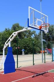Стойка баскетбольная стационарная SS00083
