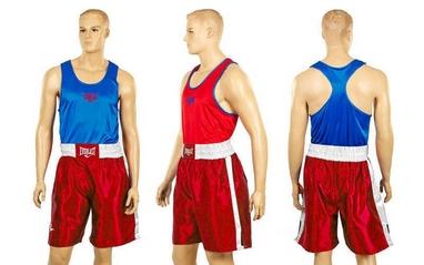 Форма боксерская двухсторонняя Everlast МА-6010-R красно-синяя