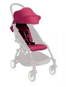 Комплект цветной (капюшон, матрасик) Babyzen Yoyo Plus 6+ Pink