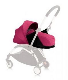 Люлька Babyzen Yoyo Plus 0+ Pink с дождевиком