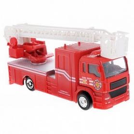 Машина пожарная Big Motors инерционная