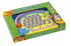 Игра обучающая Genio Kids Волшебная азбука украинская