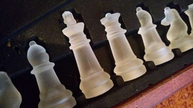 Фото 2 к товару Шахматы стеклянные JB-014