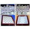 Шахматы стеклянные JB-014 - фото 3
