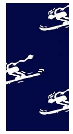 Головной убор зимний многофункциональный (Бафф) Wind X-treme 1003 Ski Blue