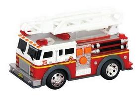 """Спасательная техника Toy State """"Пожарная машина с лестницей"""" 13 см"""