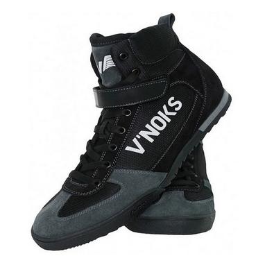 Боксерки кожаные V`Noks Grey 60036
