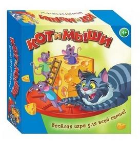 Игра детская настольная Dream Makers Кот и мыши