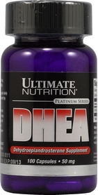 Специальные препараты Ultimate Nutrition Dhea Dehydroepiandrosterone 50 мг 100 капс.