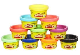 Набор массы для лепки Play-Doh Hasbro 10 баночек