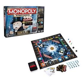 Игра настольная Монополия с банковскими картами (обновленная) Hasbro