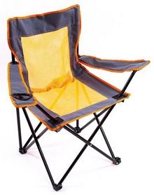 Распродажа*! Стул складной туристический Green Camp В24L Leaf Orange