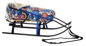 Конвертик для коляски и санок меховый AL-MATR2-59