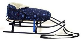 Конвертик для коляски и санок меховый AL-MATR2-50