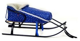Конвертик для коляски и санок меховый AL-MATR2-47