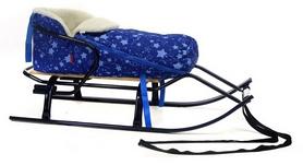 Конвертик для коляски и санок меховый AL-MATR2-49