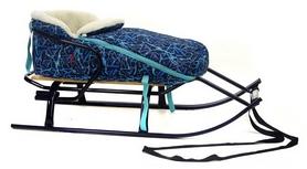 Конвертик для коляски и санок меховый AL-MATR2-53