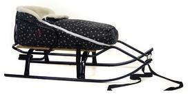 Конвертик для коляски и санок меховый AL-MATR2-48