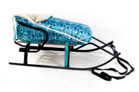 Конвертик для коляски и санок меховый AL-MATR3-43