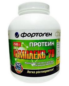 Протеин Фортоген Комплекс 78 2.5 кг