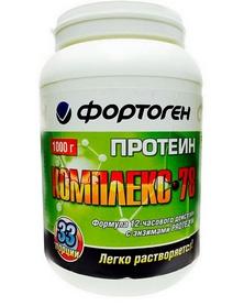 Протеин Фортоген Комплекс 78 1 кг